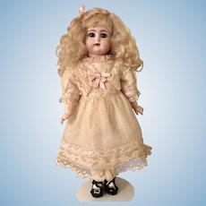 """Adorable 13"""" Simon Halbig K Star Doll With Straight Wrists"""