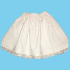 Lovely Old Doll Petticoat
