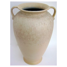 Tall Scheurich German Vase with Side Handles