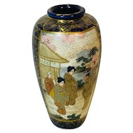 Asian Small Satsuma Vase
