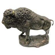 Bronze  Buffalo, Bison