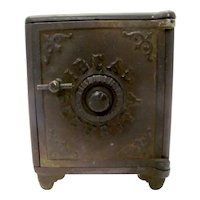 Cast Iron Ideal Security Coin Bank