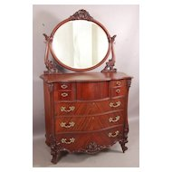 Horner Brothers  mahogany tall chest