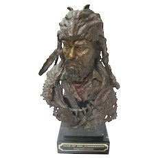 "Bronze"" Man of The Wilderness ""GREG POLUTANOVICH"