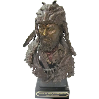 "Bronze"" Man of The Wilderness ""GREG POLUTANOVICH"