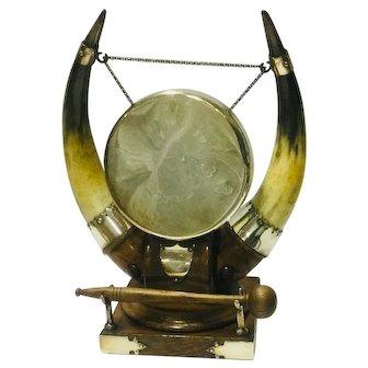 Antique Black Forest Dinner Gong