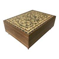 Vintage Mosaic Jewelry Box