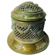 Antique Brass Scent Dispenser