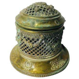 Antique Brass Scent Dispenser