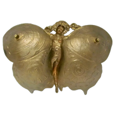 Bronze Art Nuveau Tray