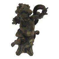 Vintage Bronze Cherub