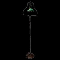 Bronze Handel Harp Floor Lamp