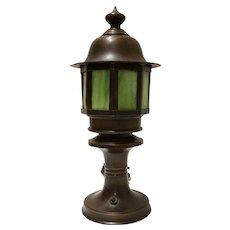 Bronze Handel Table Lamp