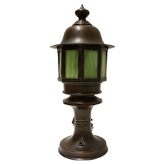 Bronze Handel Table Lamp