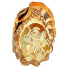 Carved Cameo Shell