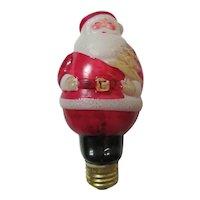 Santa Claus Light Bulb