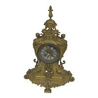 Dore Bronze French Clock