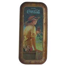 1916 Elaine Coca-Cola Tray