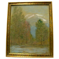 Dave Stirling Trees Painting