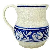 Dedham Pottery Pitcher