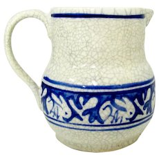 Dedham Pottery Pitcher