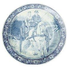 Delfts Porcelain Plate