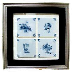 Delft Tiles in Frame
