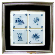 Delft Tiles in Frame