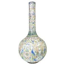 Monumental Enameled Chinese Vase
