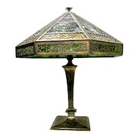 Filigree Stained Glass Lamp