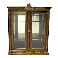 19th Century French Miniature China Cabinet