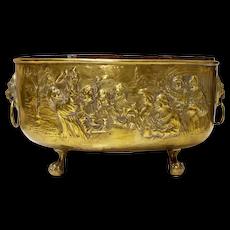Handmade Brass Planter