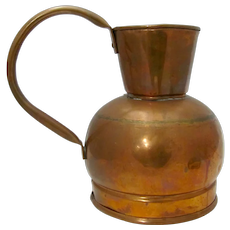 Handmade Copper Pitcher