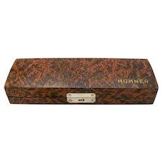 Vintage Hohner Harmonica Case