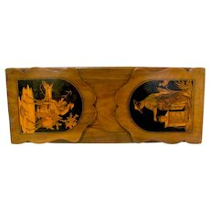 Victorian Marquetry Inlaid Book Holder