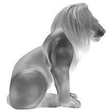 Lalique - The Bamara Lion Made in France