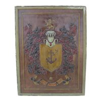 Leather Coat of Arms - Hand Chases