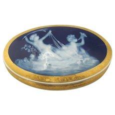 Limoges Pate Surpate Pottery Bowl