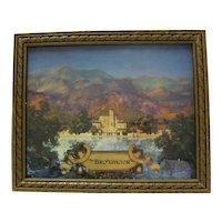 Maxfield Parrish Broadmoor Print