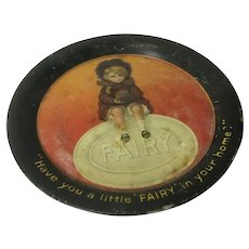 Little Fairy Soap promotional tin plate