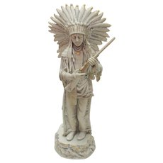 Royal Dux Porcelain  Indian Chief
