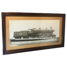 Photograph of Locomotive C.&N. W.R. Railroad. 1906