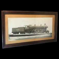 Photograph of Locomotive C.&N. W.R. Railroad. 1906