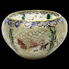 Plique-a-jour Chinese Bowl
