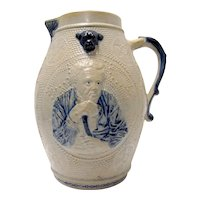 "Salt Glaze Stoneware ""Prosit"" Made in Whites, NY"