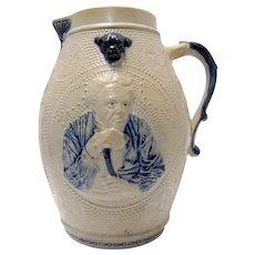 "Salt Glaze Stoneware ""Prosit"" Made in Whites, NY"