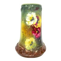 Antique Hand Painted Royal Bonn Vase