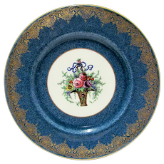 Royal Worcester England Porcelain Mottled Plate 1 of 18 Available