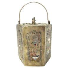 Chinese Brass Sake Pot