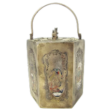 Chinese Brass Sake Pot